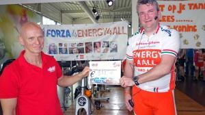 Opbrengst Spinningmarathon Forza4Mees 2014