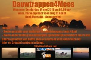Poster Dauwtrappen 2015 webformaat