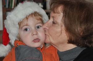 Oma en Santa Mees 5